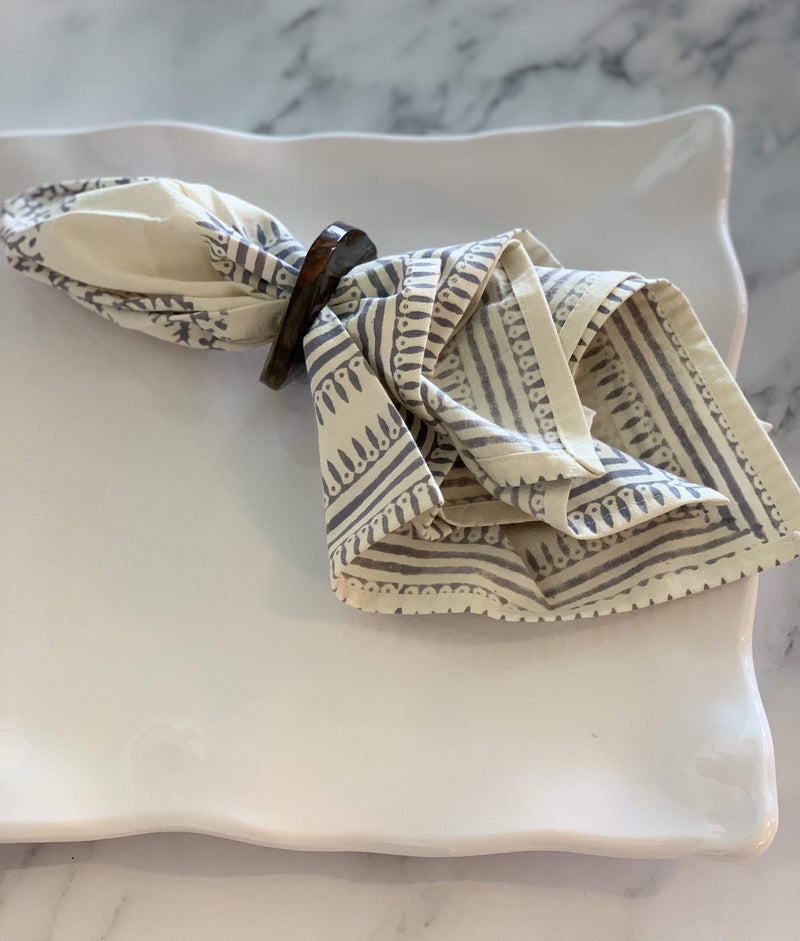 Ruffle Rectangle Platter - PORCH