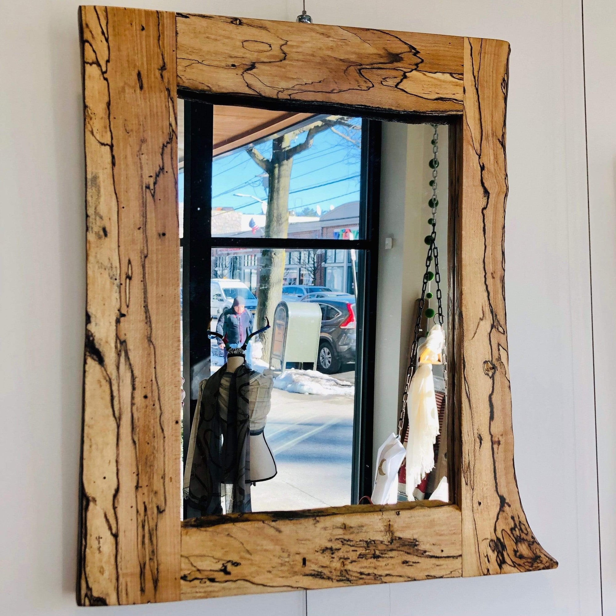 Spalted Maple Mirror - PORCH