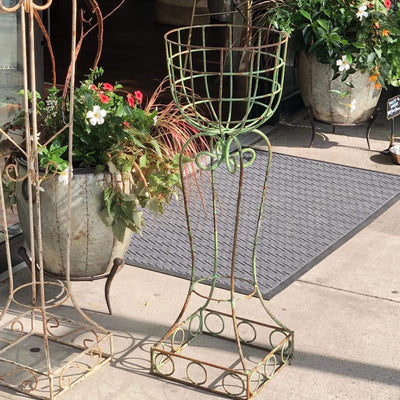Vintage Iron/Wire Planter - PORCH