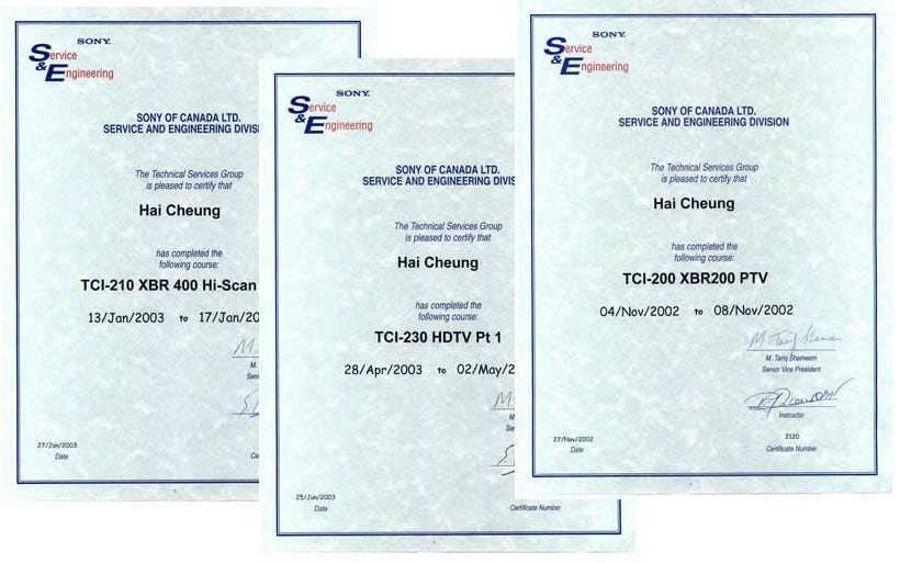 TV home service Toronto Certified Technician
