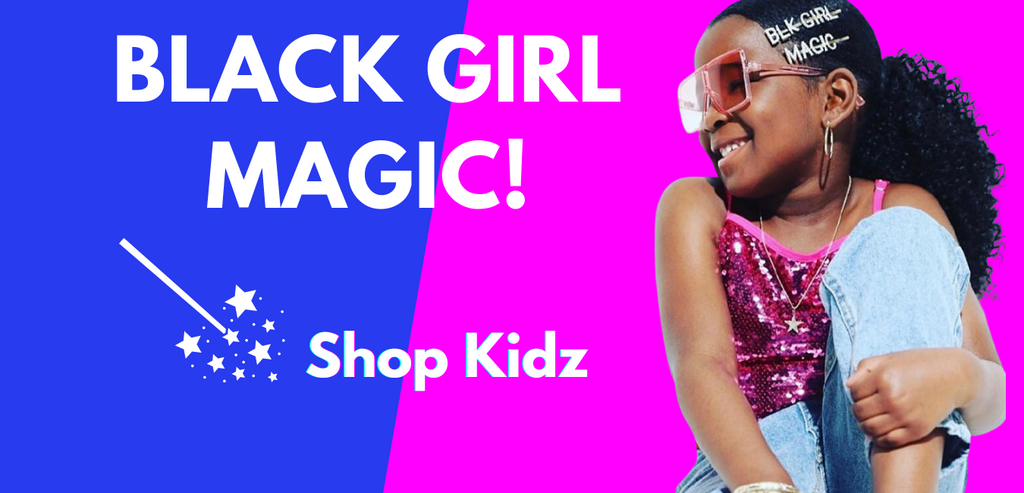 black girl magic hairpin set