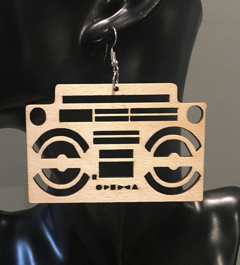 Boombox Earrings - 3 Woke Girlz