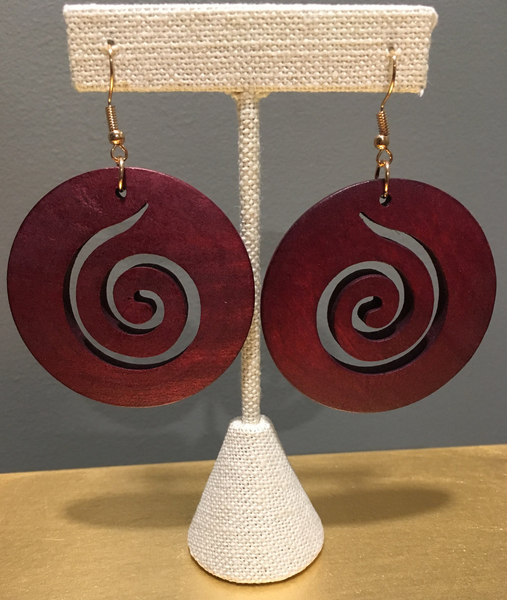 Heritage Wood Earrings - 3 Woke Girlz