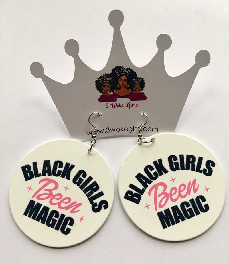 Black Girls Been Magic Earrings - 3 Woke Girlz