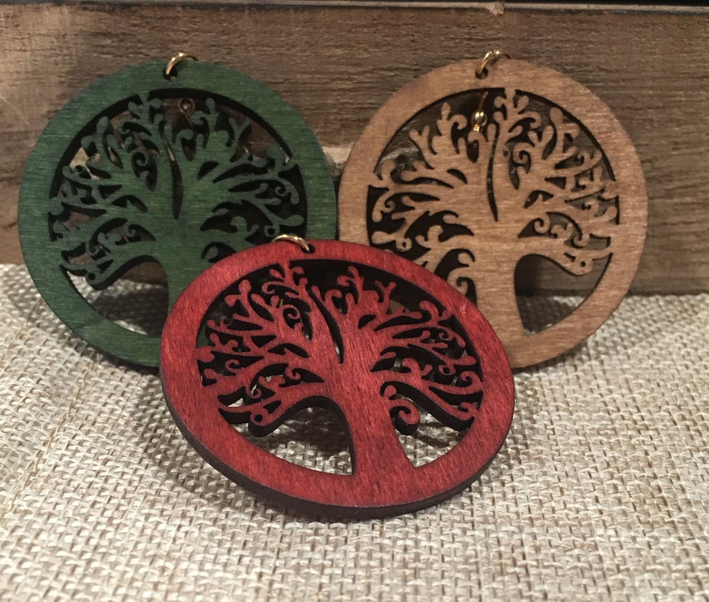 Tree of Life Earrings - 3 Woke Girlz