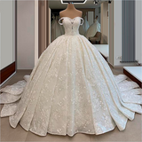 Wedding Dresses Off the Shoulder A-line