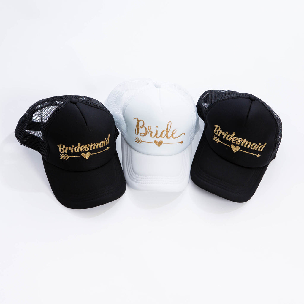 Bride Squad Trucker Caps - Bridesmaid's World