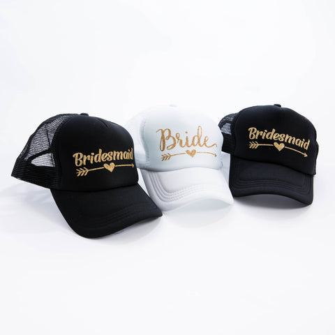 Bridesmaid Trucker Hats