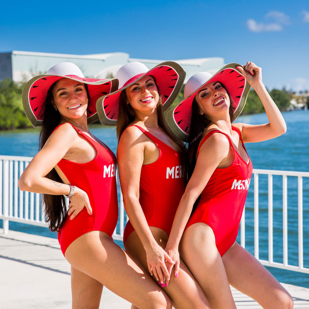 Customized Team Bride Bachelorette Swimsuits