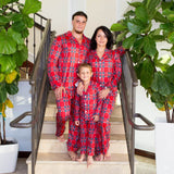 Plaid CHRISTMAS Family Pajamas Set - Bridesmaid's World