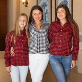 Plaid Bridesmaid Shirts  Plaid Shirt - Bridesmaid's World