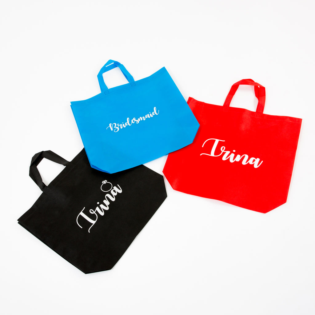 Customized Tote Bags - Bridesmaid's World