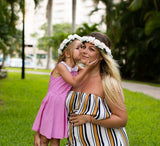 Mommy and Me Flower Headbands - Bridesmaid's World