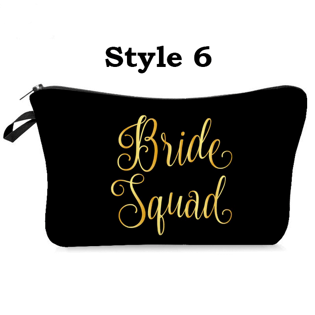 Bridesmaid Make up bags cases