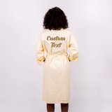 Cotton Waffle Long Bridal Robes