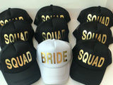 Red Squad Trucker Hats - Bridesmaid's World
