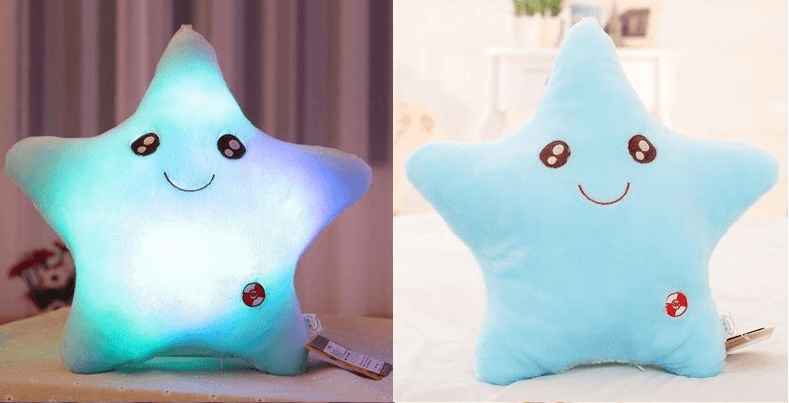 LED light up Star Pillows - Bridesmaid's World
