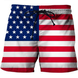 American Flag Men's Trunk