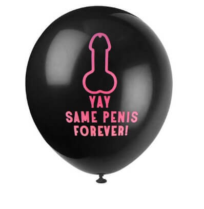 Same Penis Bachelorette Party Balloons