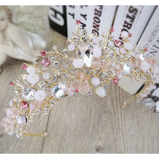 Baroque Bridal Tiara - Bridesmaids World