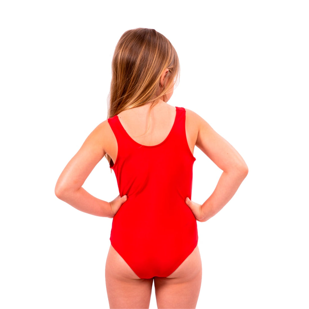 Beach Babe One Piece Kids Swimsuit