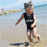 SQUAD Kids One Piece Swimsuit - Bridesmaid's World
