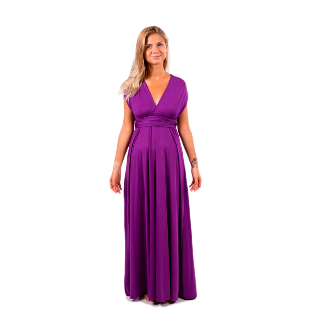 Bridesmaid Infinity Multi way Wrap Dress