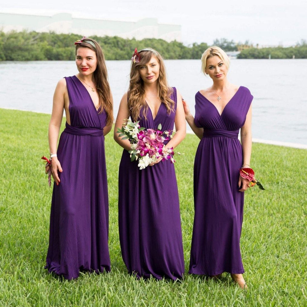 Bridesmaid Infinity Multi Way Wrap Dress - Bridesmaid's World