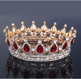 Vintage Rhinestone Crown - Bridesmaid's World