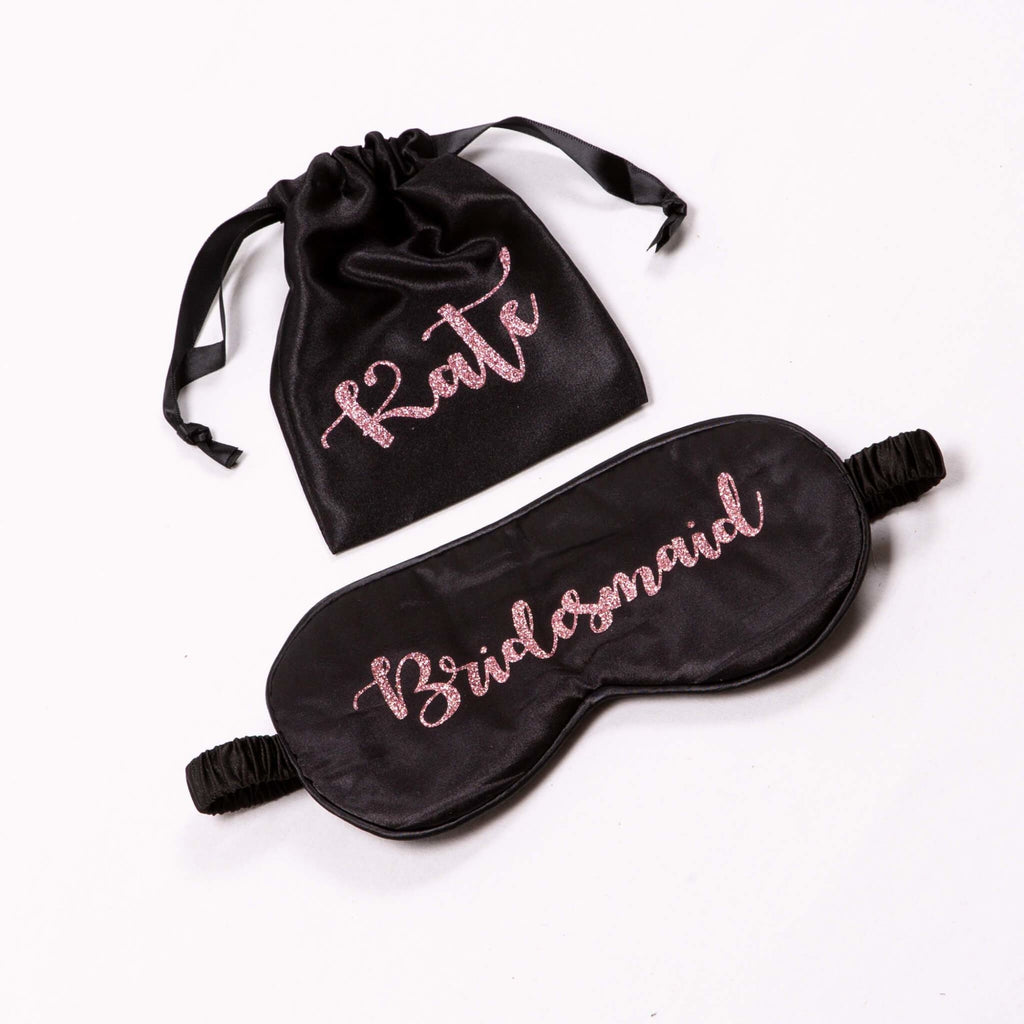 Customized Bridesmaid Sleep Eye Masks