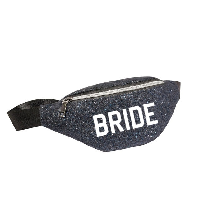 Customized Sequin Fanny Packs - Bridesmaid's World