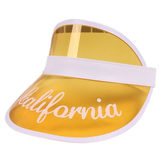 Customized Plastic Sun Visors - Bridesmaid's World