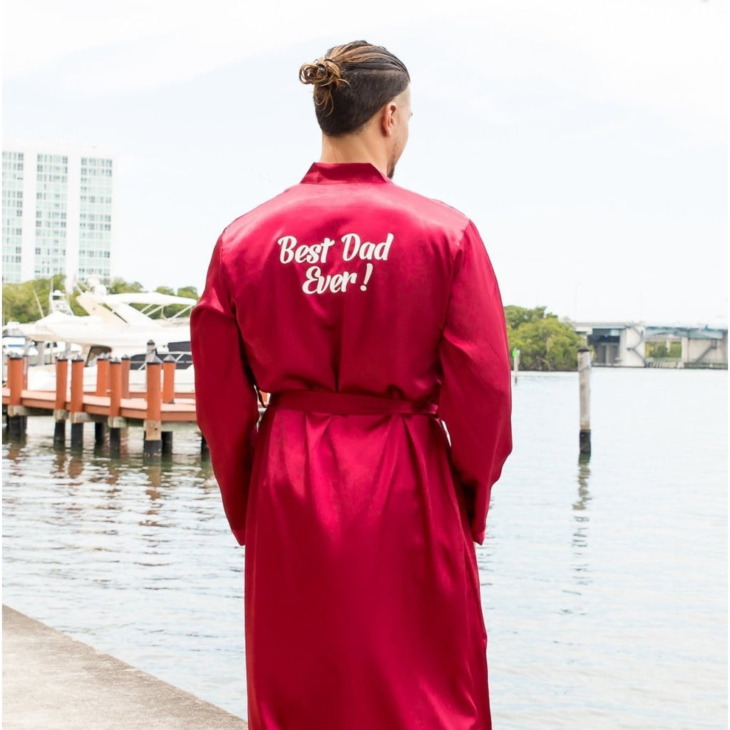 Father's Day Gift Customized Robes - Bridesmaid's World