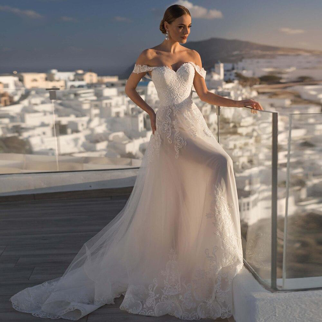 Sexy Backless Sweetheart Lace Mermaid Wedding Dress