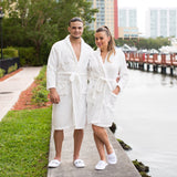His and Hers Personalized Cozy Terry Bathrobes - Bridesmaid's World
