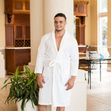 Men's Cozy Terry King Bathrobe