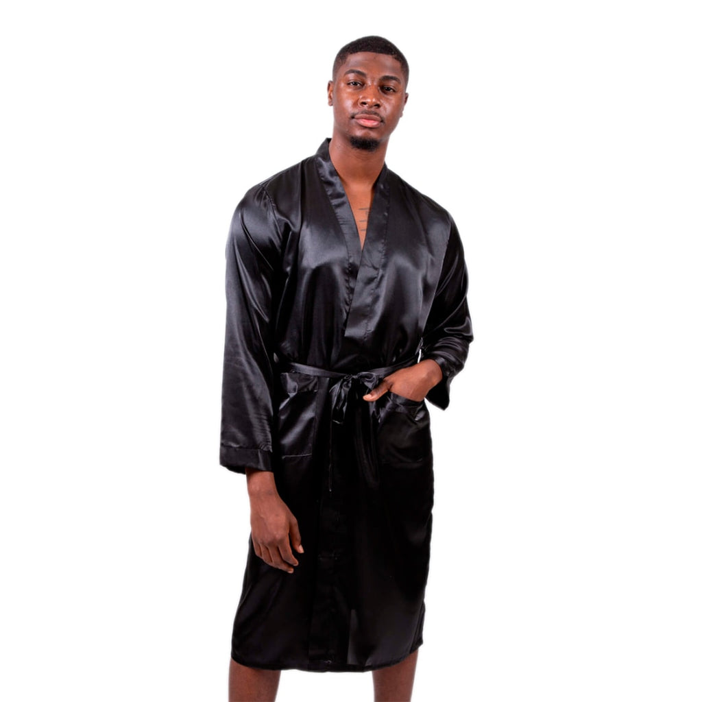 Men's King Satin Robes