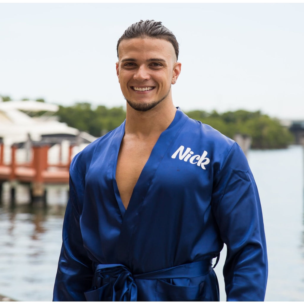 Men's Satin Robes - Bridesmaid's World