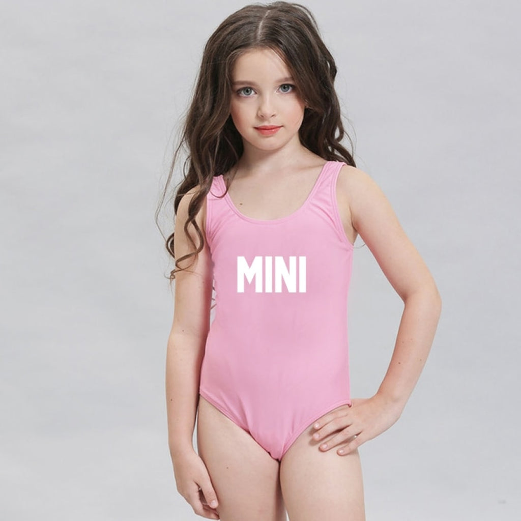 MINI Kids One piece Swimsuit - Bridesmaid's World