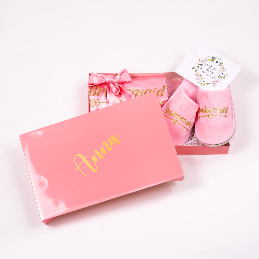 Will you be my Bridesmaid Proposal Gift Box