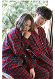 Cotton Couple Pajama Set with Long Sleeve