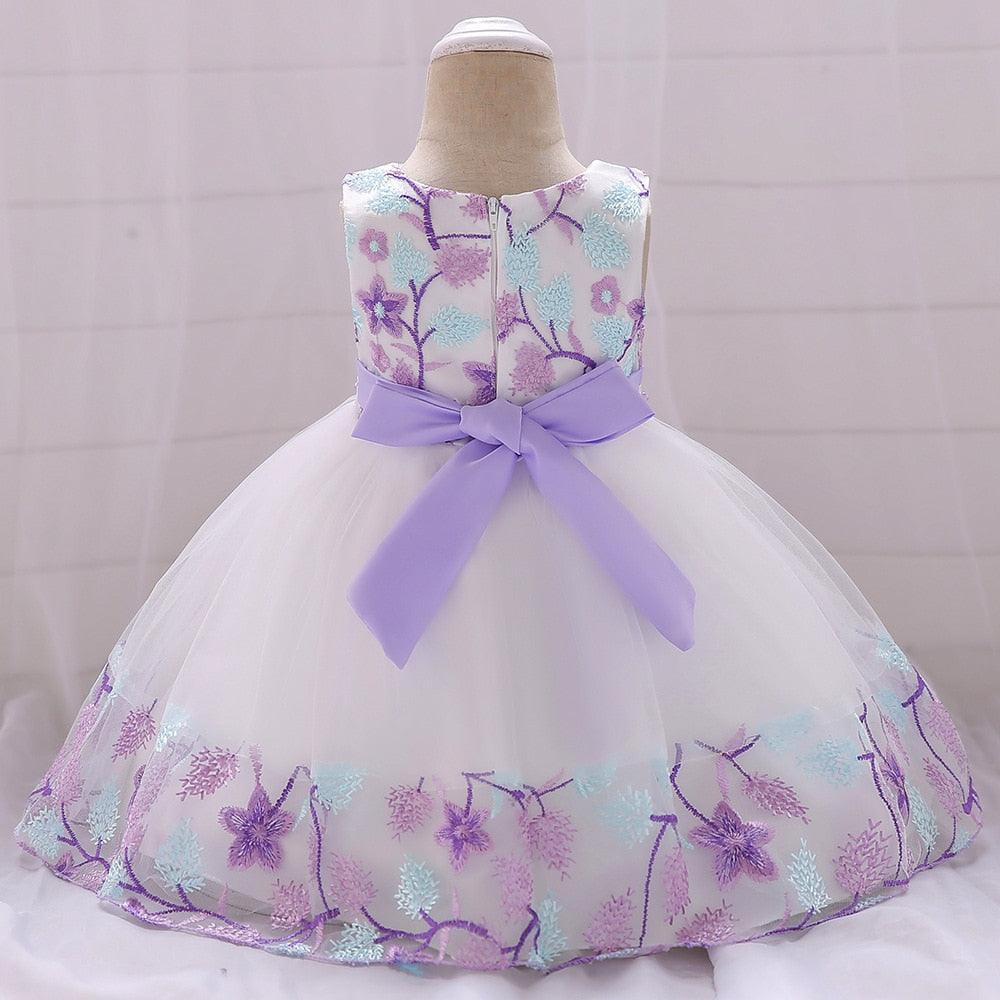 Infant Baby Girl Dress Lace Tulle Dresses for Girls