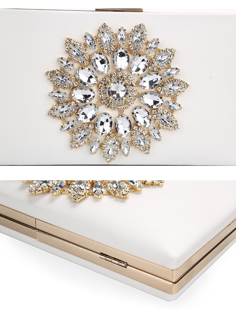 Women Clutch Bag Wedding Clutch Purse Bridal Evening Crystal