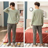 Cotton Men's Pajama Set