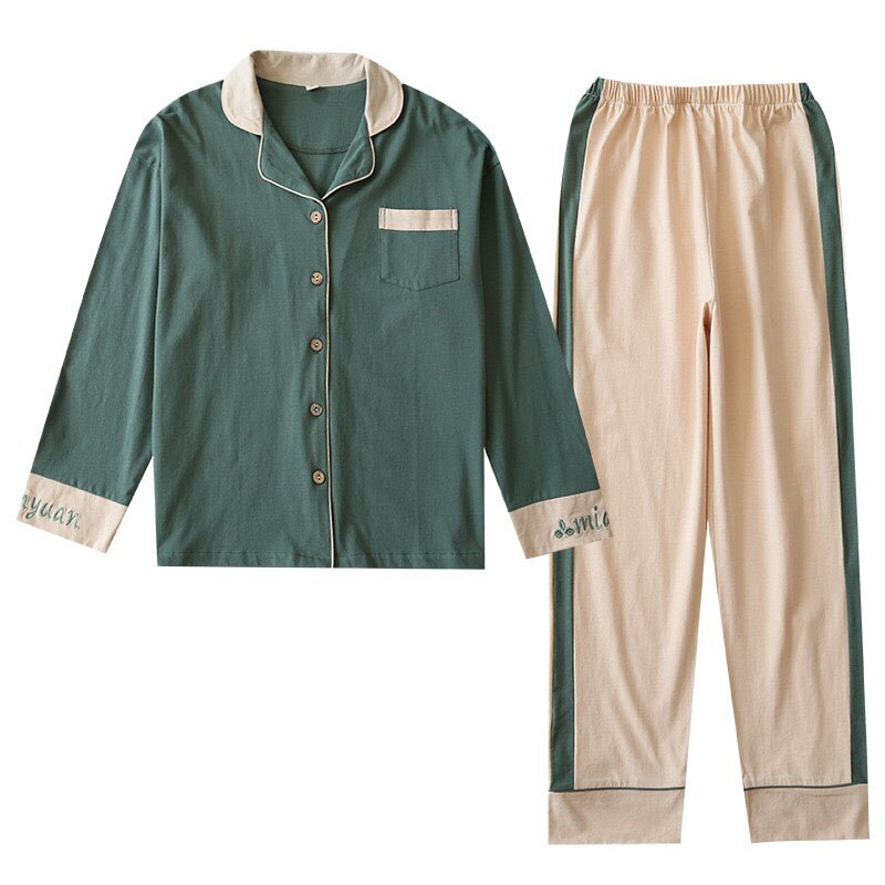 Couple Cotton Pajama Set