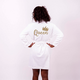 Cozy Terry Customized Queen Bathrobe