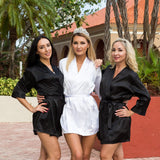 Satin Customized Bridesmaid Robes