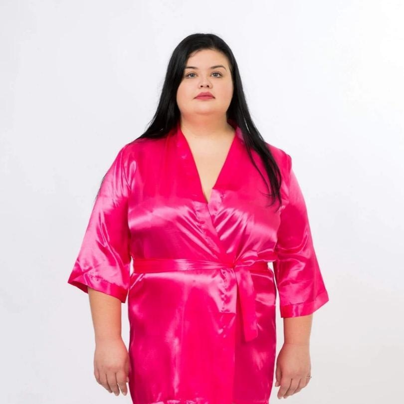 SET OF 11 ROBES BRIDESMAID SATIN ROBES - Bridesmaids World