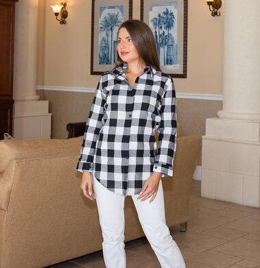 Plaid Bridesmaid Shirts - Bridesmaid's World