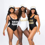 Squad One-Piece Bathing Suit - Bridesmaids World